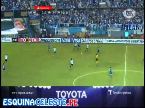 Racing Club(1) - Sporting Cristal(2) Partido Completo - Copa Libertadores 2015
