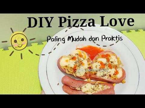 Cara Buat Pizza Paling Mudah Praktis - Bukan Donat Indomie, Ini Pizza Indomie - Olahan Sosis