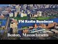 Boston, MA FM Radio broadcast band scan