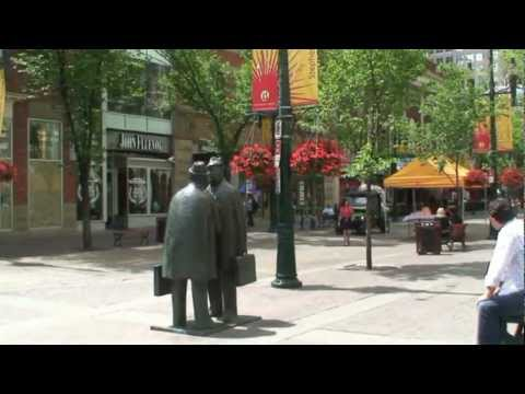 Calgary  Attraction - Stephen Avenue Walk - Best Restaurants ,Cafes and Bars - Tourist Guide