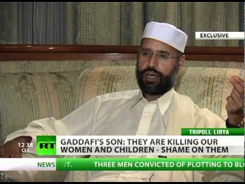 Gaddafi's son: Libya like McDonald's for NATO - fast war as fast food