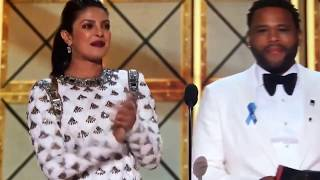 2017 Emmy Emmy's Award Variety talk show presented by Priyanka Chopra