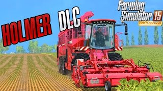Official HOLMER DLC - Farming Simulator 2015