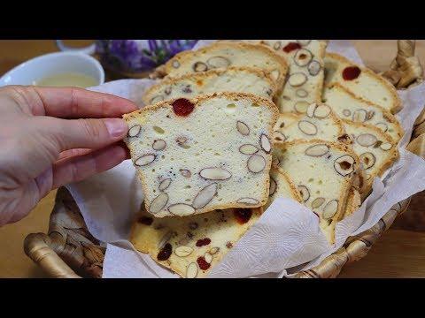 СУХАРИКИ НА БЕЛКАХ или Белковый Кекс ! Crackers on  Egg whites