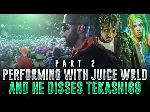 KING OF DOWNTOWN: PERFORMING WITH JUICE WRLD AND HE DISSES tekashi69 PT 2