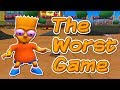 The Simpsons Skateboarding  - The WORST Video Game Ever Made