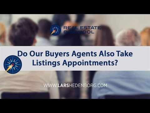 Should Buyer's Agents Take Listings?