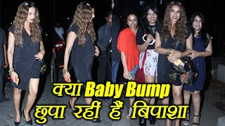 Bipasha Basu HIDING Baby Bump ? Watch video | FilmiBeat