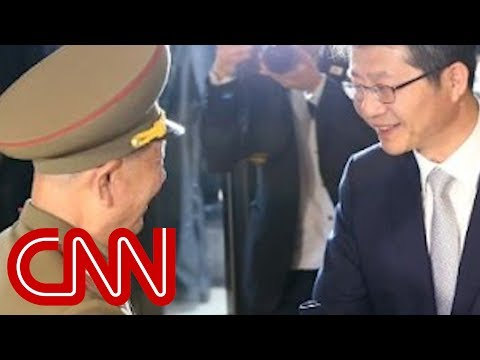 North and South Korea exchange fire at border