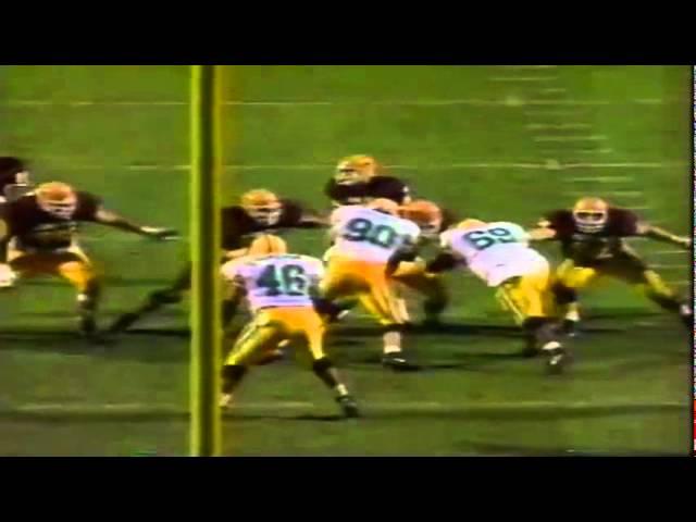 Oregon safety Paul Rodriguez tips away a pass vs. ASU 11-09-1991
