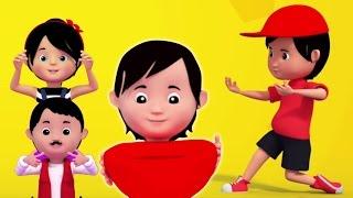 Finger gia đình | Rhymes vườn ươm cho trẻ em | Rhymes For Babies | Kids Song | Finger Family