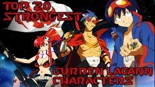 Top 20 Strongest Gurren Lagann Characters