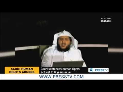 SAUDI ARABIA:  Court sentences human rights activist to 8 years in jail !