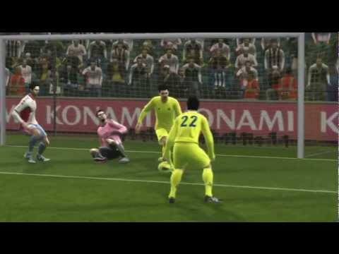 PES 2013 Backheel Shot Tutorial - Skills Tutorial 2