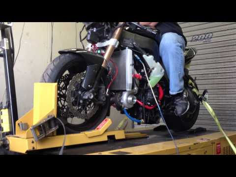 Turbo Charged 2008 Kawasaki ZX10 On The Dyno At Stedman Motorsports