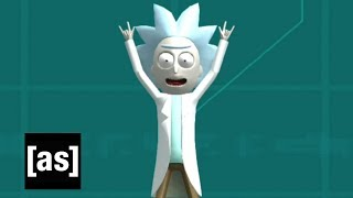 PlayStation®4 Rick and Morty Virtual Rick-ality Theme Trailer | Adult Swim Games