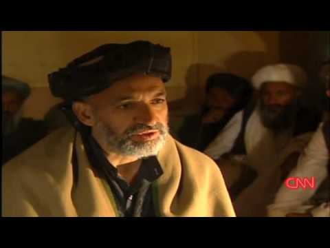 High hopes: Hamid Karzai 2001