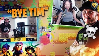 COURAGE AND POKIMANE KILL TIMTHETATMAN?! #ad