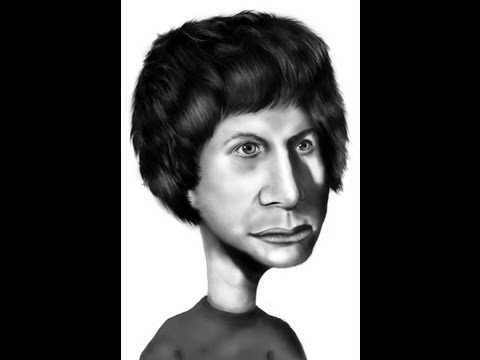 Michael Cera (Caricature) - SpeedPainting Part 1