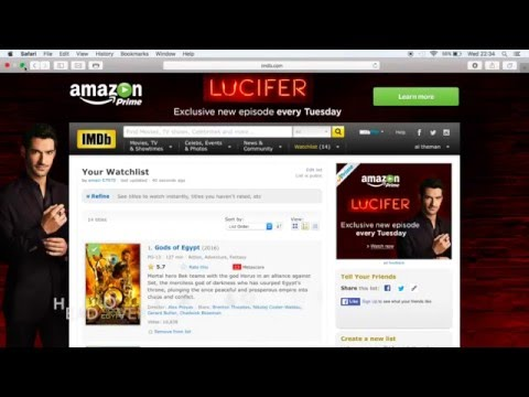 How to add IMDB lists to Exodus in Kodi