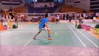 Unbelievable Badminton Rally!