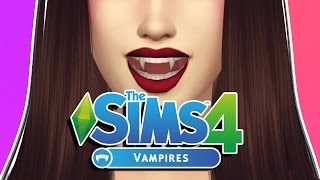The Sims 4 Vampire Game Pack || 1st Look