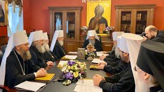 В Киеве прошло  Заседание Священного Синода УПЦ