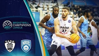 PAOK v Happy Casa Brindisi - Full Game - Basketball Champions League 2019-20