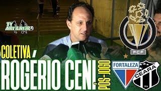 [Cearense A '19] Coletiva Rogério Ceni | Rádio | Pós-jogo Fortaleza 2 X 0 Ceará | TV ARTILHEIRO