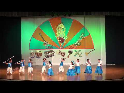 Kagg-ugadi-2013 - Mysore Mallige Kids Dance video