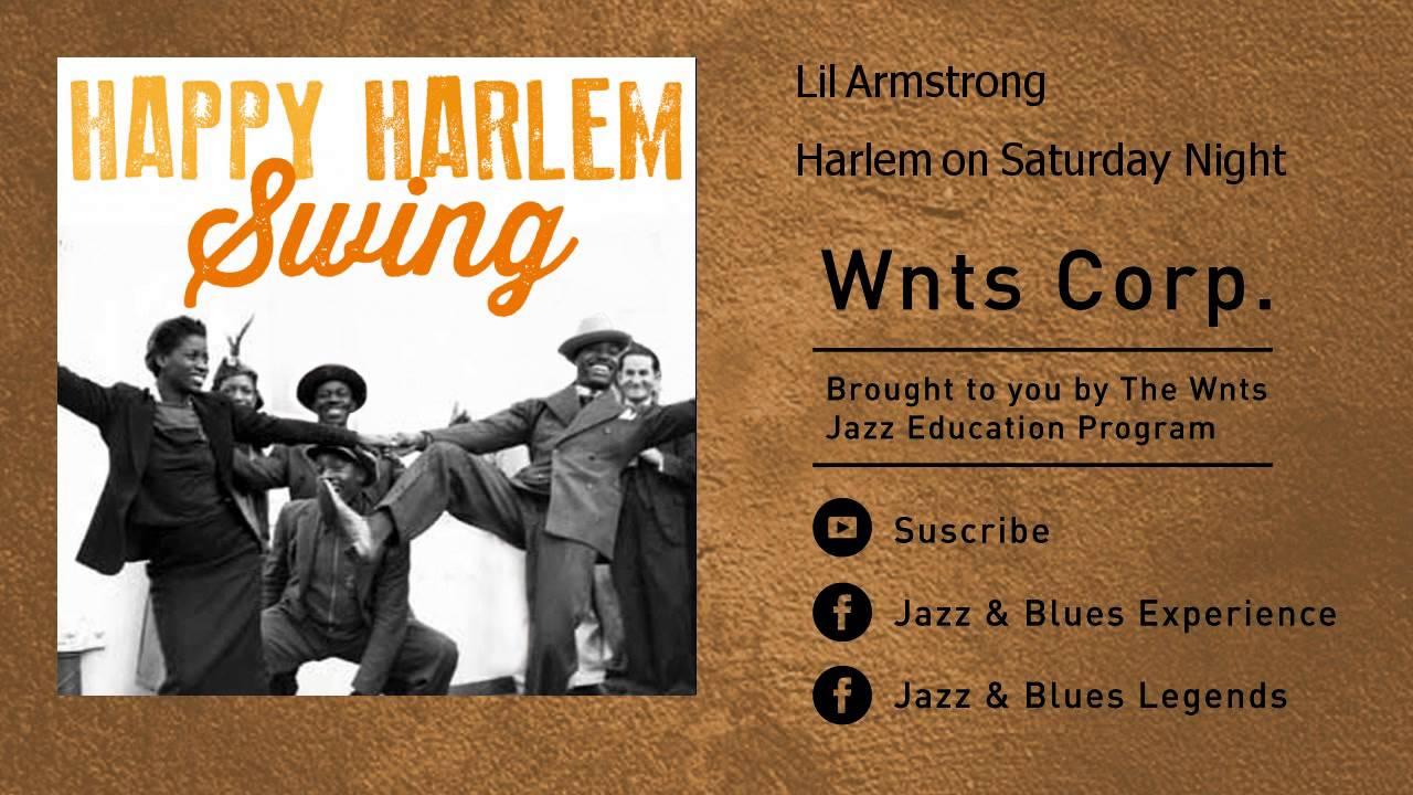 Lil Armstrong - Harlem on Saturday Night