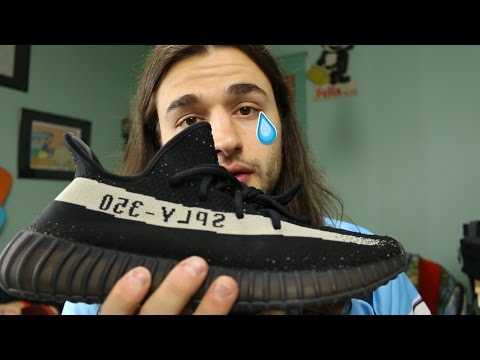 They sent me fake Yeezys...