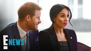 Is Meghan Markle Getting a Butt Pat From Prince Harry? | E! News
