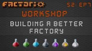 Factorio Workshop Season 2 - Building A Better Factory :: Banan's 0.15 Science Pack Builds