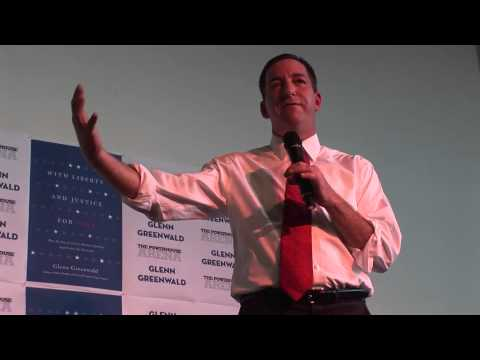 Glenn Greenwald Speaks at Powerhouse Books July 2011