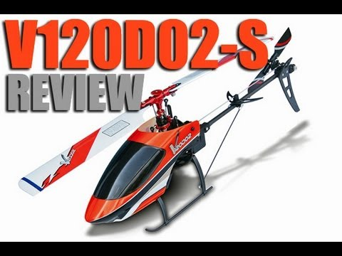 Walkera V120D02S Flybarless Mini  3D RC Helicopter Review