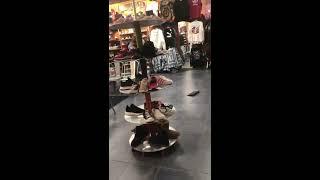 PUBLIC FREAKOUT! Couple have a major fight inside a JOURNEYS shoe store