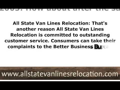 All State Van Lines Relocation on the Importance of Customer Service