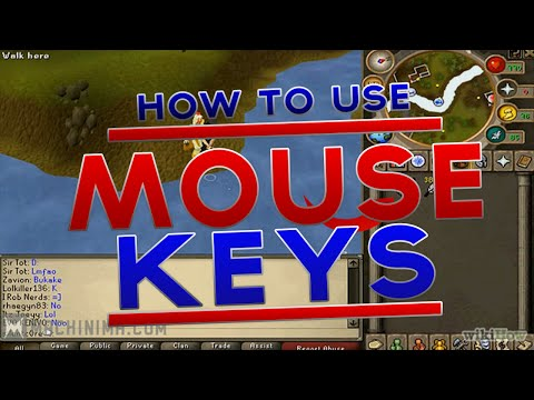 How to drop items fast in Runescape 2007 - Mouse Keys Guide