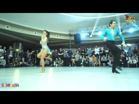 Salim & Gizem Çobanoğlu Show - Tdsf Adana 2.Etap Salsa Yarışması After Party - 2016