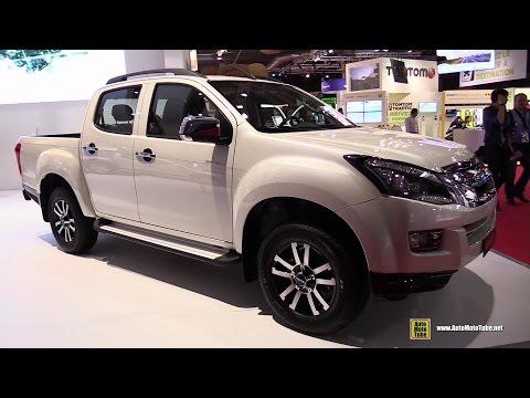 2015 Isuzu D-Max Solar 2.5TD Diesel - Exterior and Interior Walkaround - 2014 Paris Auto Show