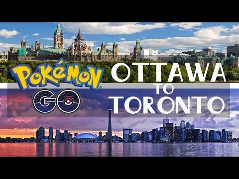 POKEMON GO GOOGLE MAPS IS TAKING OVER - OTTAWA to TORONTO!!! #1