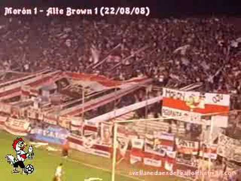 La Hinchada del Deportivo Morón vs Alte Brown (22/08/08)