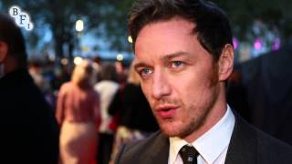 [James McAvoy on The Disappearance of Eleanor Rigby | BFI #LFF] Video