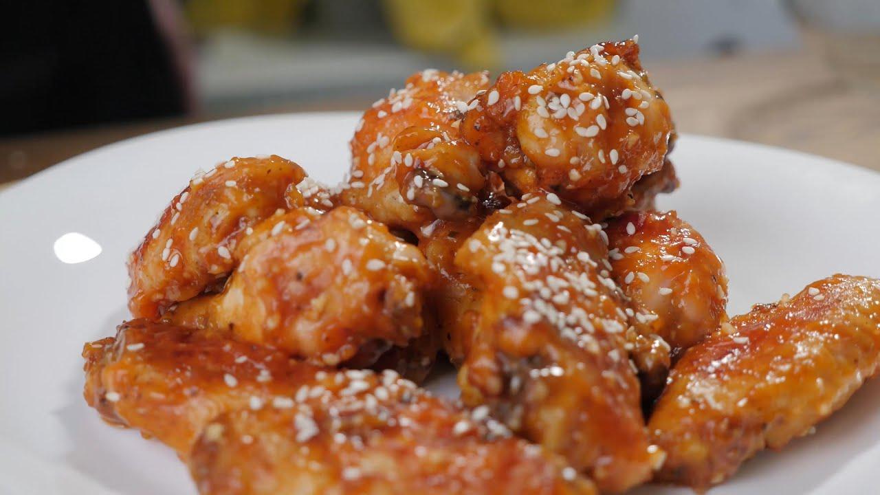 Крылышки по-китайски в кисло-сладком соусе рецепт