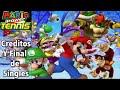 Mario Power Tennis [Créditos y Final de Singles]
