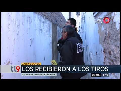 Policías fueron recibidos a los tiros en Bahía Blanca