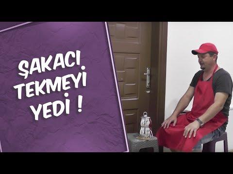 Mustafa Karadeniz -ŞAKACI tekmeği yedi :)))