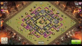 download lagu Clash Of Clans Th8 Vs Th8 Golem, Wizard & gratis