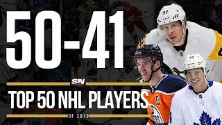 Top 50 NHL Players of 2019 - 50-41